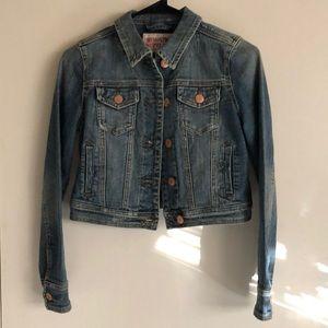 Jean jacket crop extra small